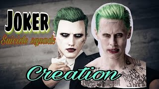 GTA5 Online- how to make JOKER from SUICIDE SQUADS CREATION