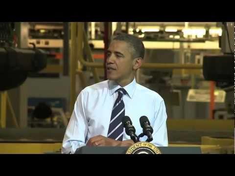 President Obama visits Toledo Assembly Plant - Part 1