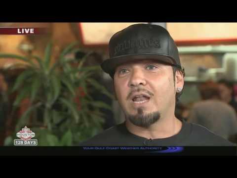 BABY BASH WITH ISIAH CAREY ON FOX NEWS HOUSTON
