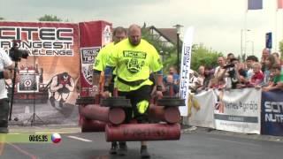 Scitec Strongman Team Challenge 2014. Tatabánya