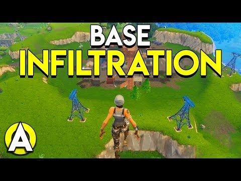 BASE INFILTRATION - Fortnite: Battle Royale (50V50/Squads)