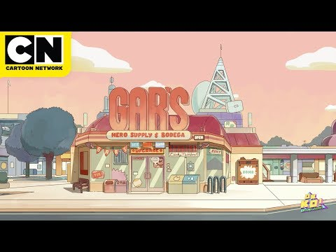 OK K.O.! | One Hour of Gar's Bodega | Bustling Street Sounds | Cartoon Network | CN Mini