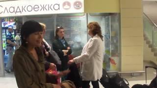 Татарская девушка из Франции поёт песню Туган тел
