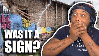 George Floyd's Ohio Mural Destroyed by LIGHTNING STRIKE!