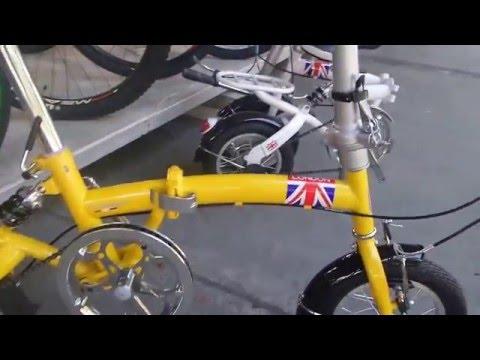 รีวิวจักรยานพับได้ tiger london ขนาดวงล้อ 12 นิ้ว