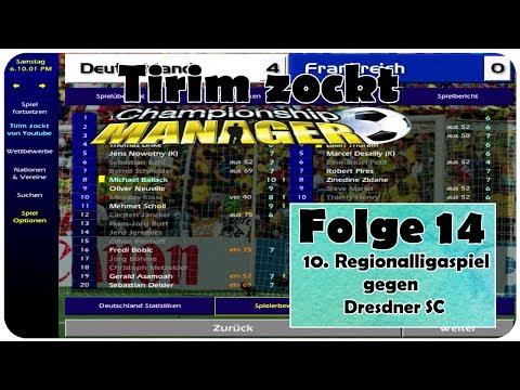 10. Regionalligaspiel gegen Dresdner SC | Championship Manager 01-02 | Folge 14