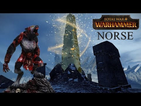 how to play total war warhammer norsca ealy
