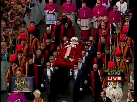 Pope John Paul II's Papal Procession 4/4/05 MSNBC