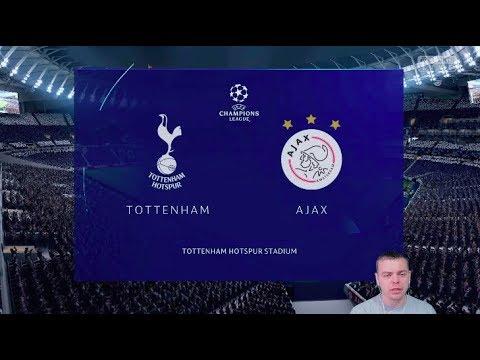 видео: Фифа Прогноз! Тоттенхэм vs Аякс - 1/2 Лига Чемпионов  2018/2019!  + Ставка