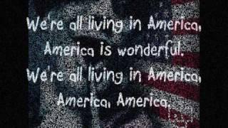 Repeat youtube video Amerika - Rammstein (English Lyrics)