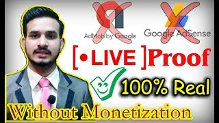 Earn Money from YouTube without Monetization 2019| No Require 4000 ...