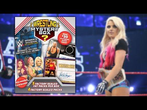 Fun $10 Trading Card Break - Walmart WWE Mystery Box