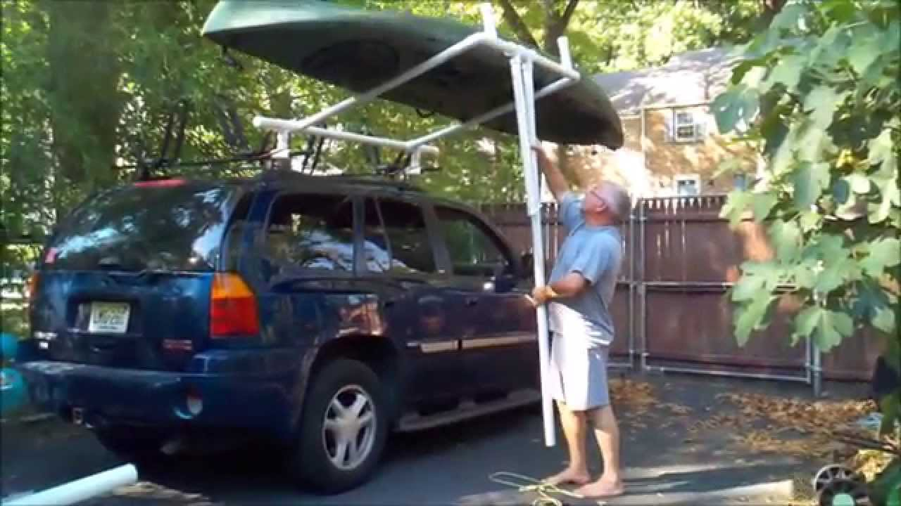 Homemade Kayak Loader Youtube