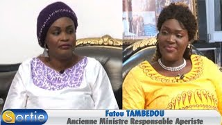 Sortie avec Fatou TAMBEDOU (Ancienne Ministre Responsable Aperiste)