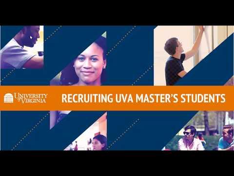 Recruiting UVA Masters Students
