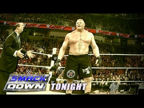 Relive Brock Lesnar's path of destruction from Raw - Catch the fallout on SmackDown tonight!