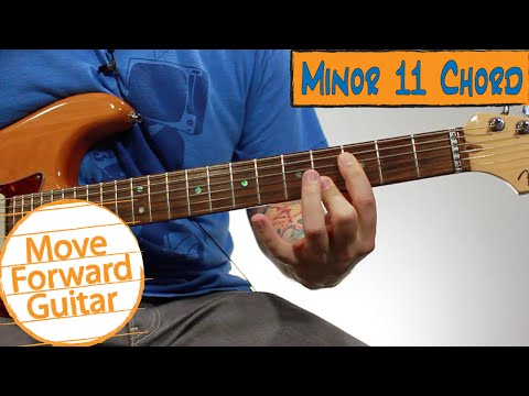 Video - Beginner Jazz Guitar Chords - Minor 11