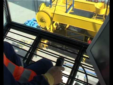 Operation on the container bridge - Northern Maritime University