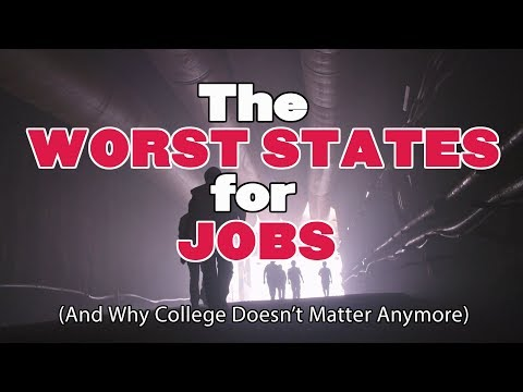The 10 WORST STATES For JOBS