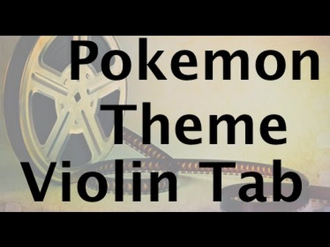 Learn the Pokemon Theme on Violin - How to Play Tutorial