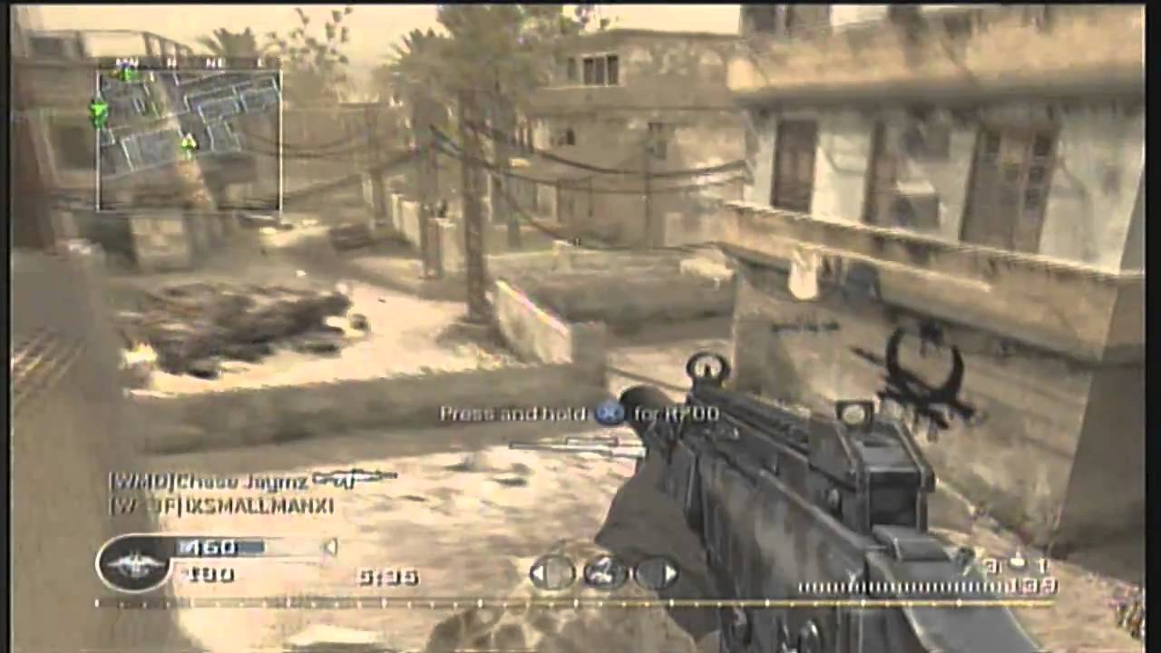 call of duty 4 silenced g36c gameplay commentary youtube