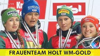 Frauenteam Deutschland holt Gold bei Ski WM 2019 | Skispringen | Katharina Althaus | Carina Vogt