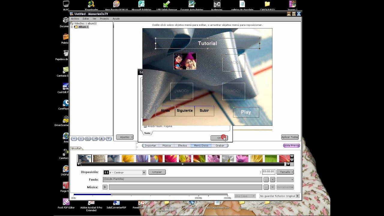 Tutorial Memories On Tv 4 1 2 Wmv Youtube