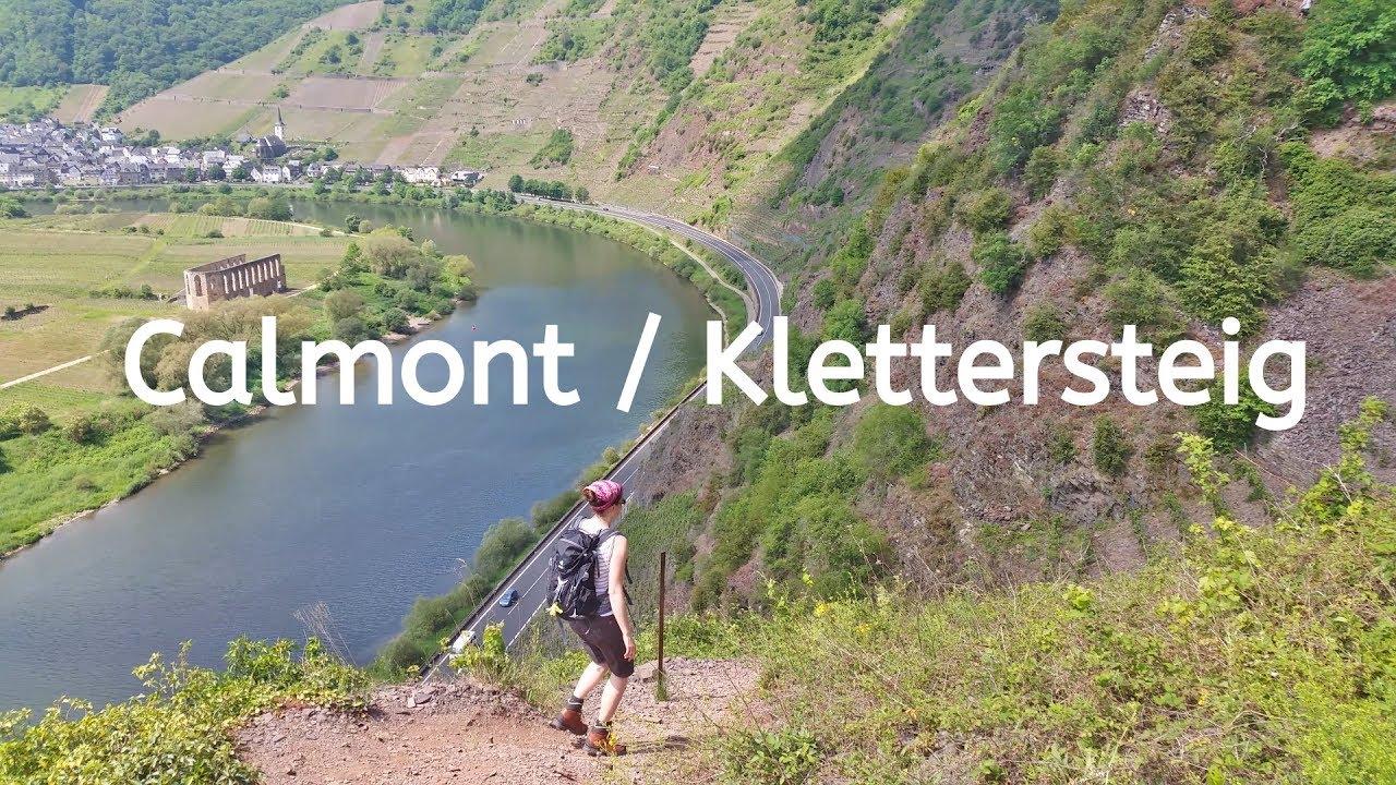 Klettersteig Calmont : Calmont klettersteig weinberge ediger eller top