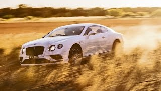 2016 Bentley GT Speed Hits 206 mph (331 km/h) Top Speed