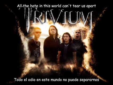Trivium - This World Can't Tear Us Apart (lyrics & subtitulos en español)