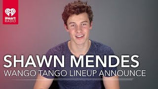 Shawn Mendes Announces And Reacts To Our 2018 Wango Tango Lineup!