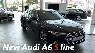 Audi A6 Sline 2019 in depth full review in 4K (interior & exterior)