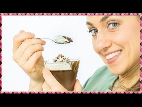 Coppa Panna e Cioccolato - Budino al Cioccolato con Crema!