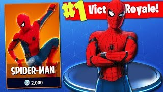 HOW TO HAVE THE SPIDERMAN SKIN IN FORTNITE *PARCHEADO*