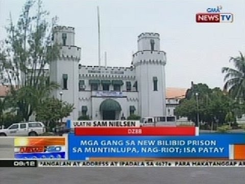 NTG: Mga gang sa New Bilibid Prison sa Muntinlupa, nag-riot