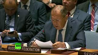 Выступление Лаврова на Совбезе ООН по миротворческой деятельности