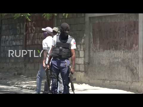 Haiti: Clashes erupt at police protest for better working conditions and against police brutality