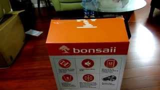 A video unboxing review of the Bonsaii Micro-Cut Paper Shredder Evershred # C149-D