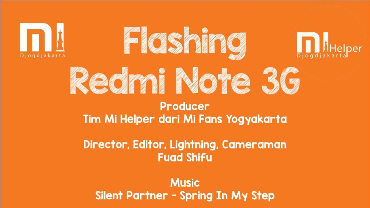 Flashing Redmi Note 3G - Mi Helper Yogyakarta