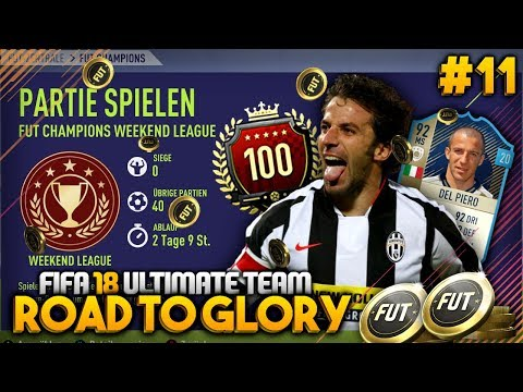 PRIME ICON Del Piero WEEKEND LEAGUE! #11 🔥💰 - FIFA 18 Road to Glory [DEUTSCH]