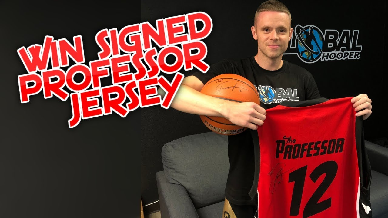 HUGE GIVEAWAY CONTEST: WIN SIGNED PROFESSOR JERSEY AND MORE!