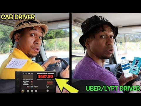 CAB DRIVERS Vs. UBER/LYFT DRIVERS