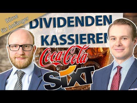 Mit Sixt und Coca-Cola: Die Dividenden-Strategie einfach erklärt