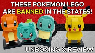 UNBOXING! - These Pokemon LEGO Sets are BANNED in the USA!