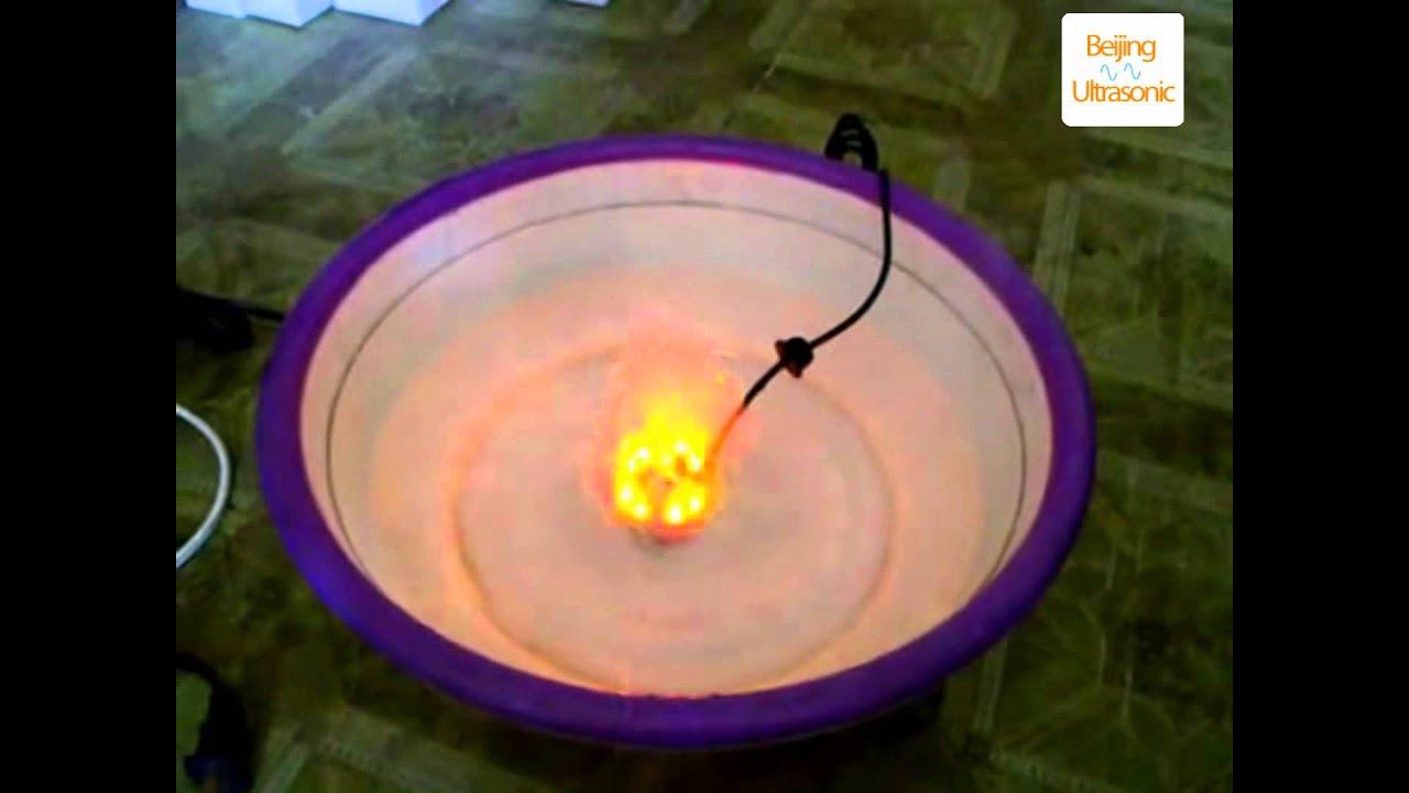 Ultrasonic Atomizing Piezoelectric Transducer Youtube Fogger Humidifier Circuit