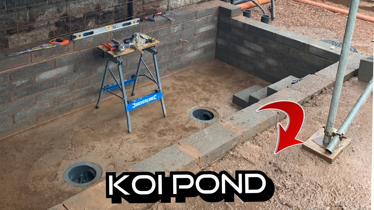 THE BEST KOI POND BUILD STEP BY STEP***SO MUCH WORK HAS BEEN DONE*** PART 28 OF THE NEW KOI POND