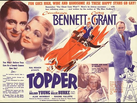 Комедия  Топпер  (1937)  Constance Bennett Cary Grant