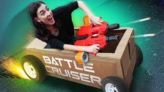 NERF Battle Cruiser Challenge!