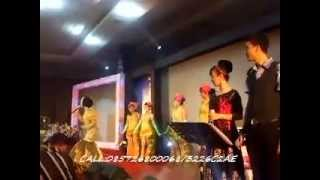 lentera indonesia band - ft uut permatasari putri panggung