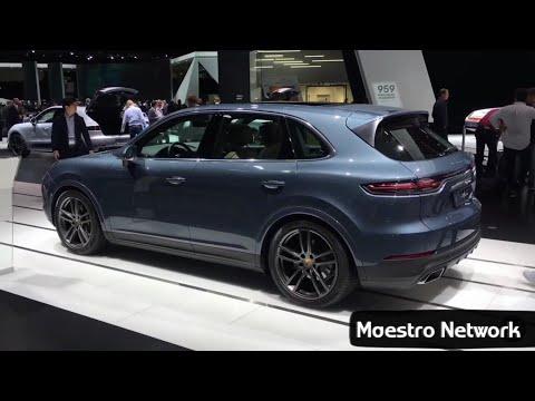 New 2018 Porsche Cayenne Interior and Exterior Revealed at Frankfurt Motor Show 2017
